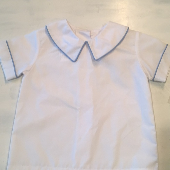 Secret Wishes Shirts Tops Baby Button Up The Back Shirt Poshmark